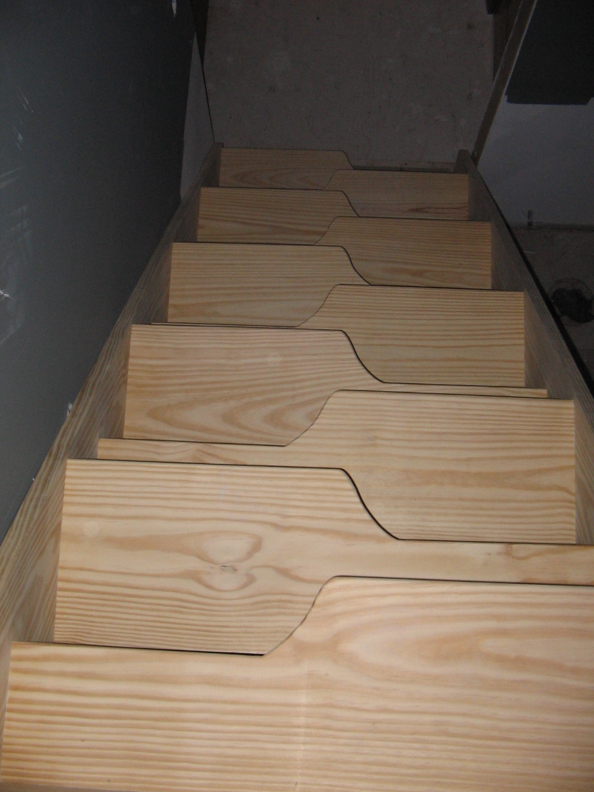 Gallery 7 Alternating Tread Stairs Nmwoodworking Com